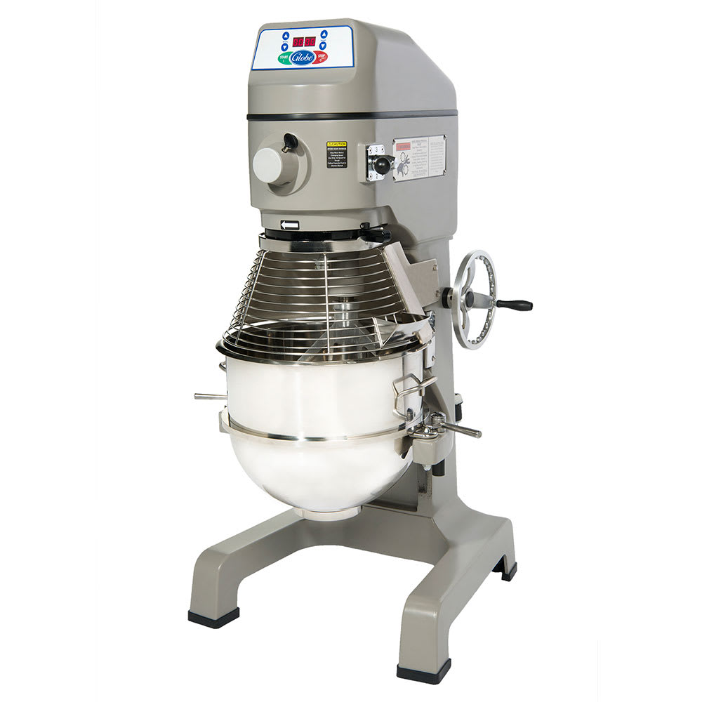 Globe SP40 208 40-qt Floor Model Planetary Mixer w/ Stainless Bowl, 3-Speed, 208/3 V