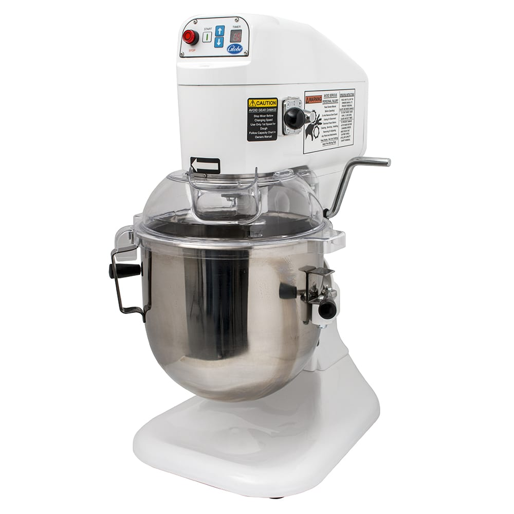 Globe SP8 Countertop Planetary Mixer w/ 8-qt Stainless Bowl & (3) Fixed Speeds, 115v