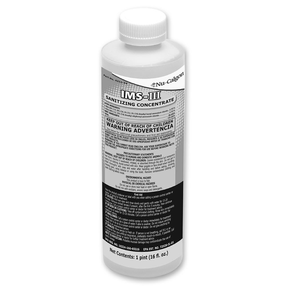 Follett 00979674 16 oz Nu-Calgon IMS-II Sanitizer