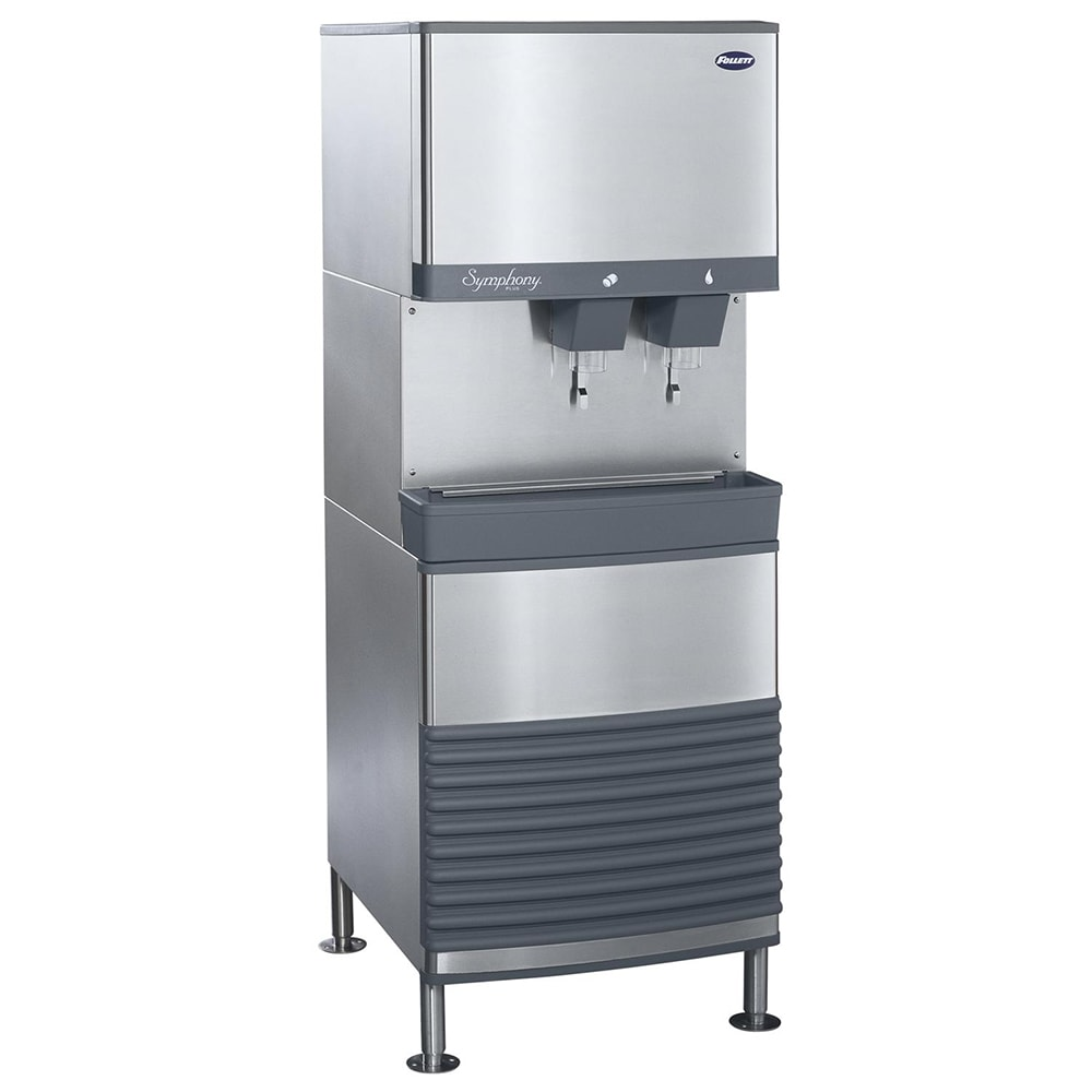 Follett 110FB425A-L Floor Model Nugget Ice Dispenser w/ 90-lb Storage - Cup Fill, 115v