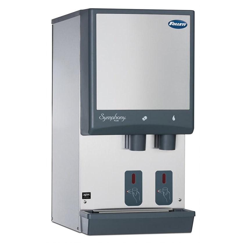 Follett 12CI425A-S Countertop Nugget Ice Dispenser w/ 12-lb Storage - Cup Fill, 115v