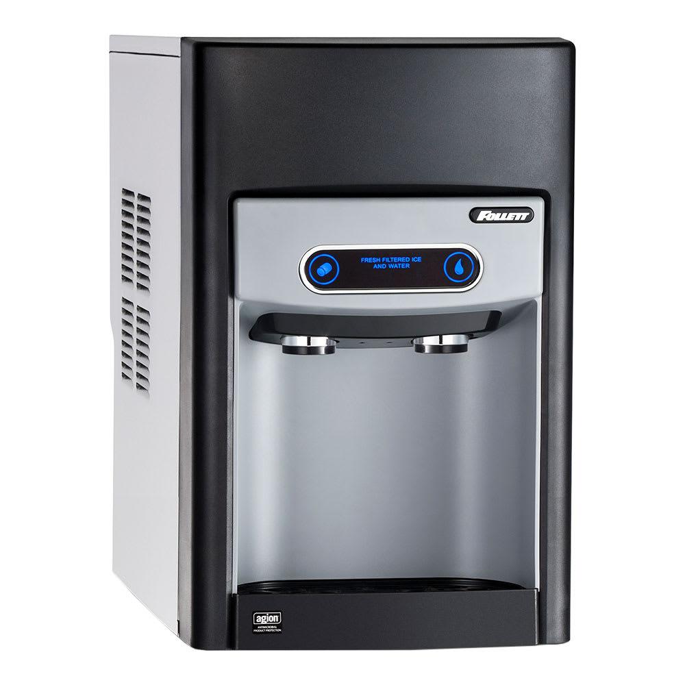 Follett 15CI100A-IW-NF-ST-00 Countertop Nugget Ice Dispenser w/ 15-lb Storage - Cup Fill, 115v