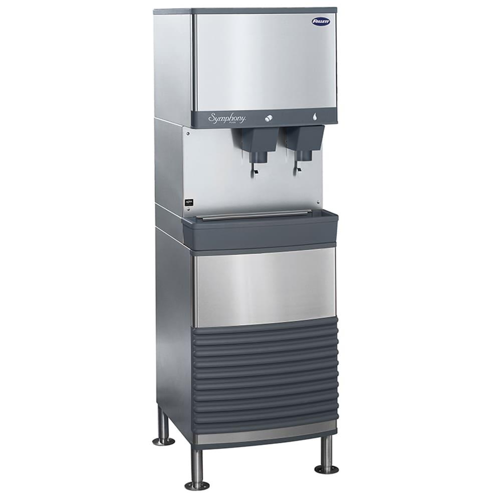 Follett 25FB425A-L 425 lb Nugget Ice & Water Dispenser w/25 lb Bin, Air Cooled, 115v