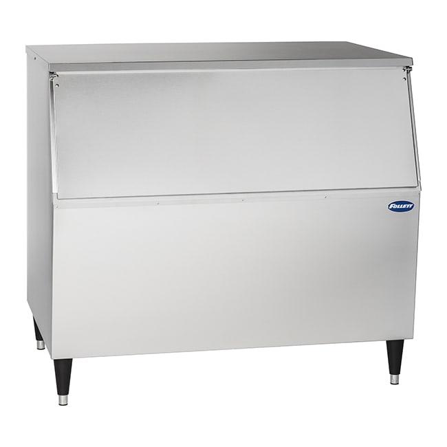 """Follett 425-30 30"""" Wide 430 lb Ice Bin with Lift Up Door"""