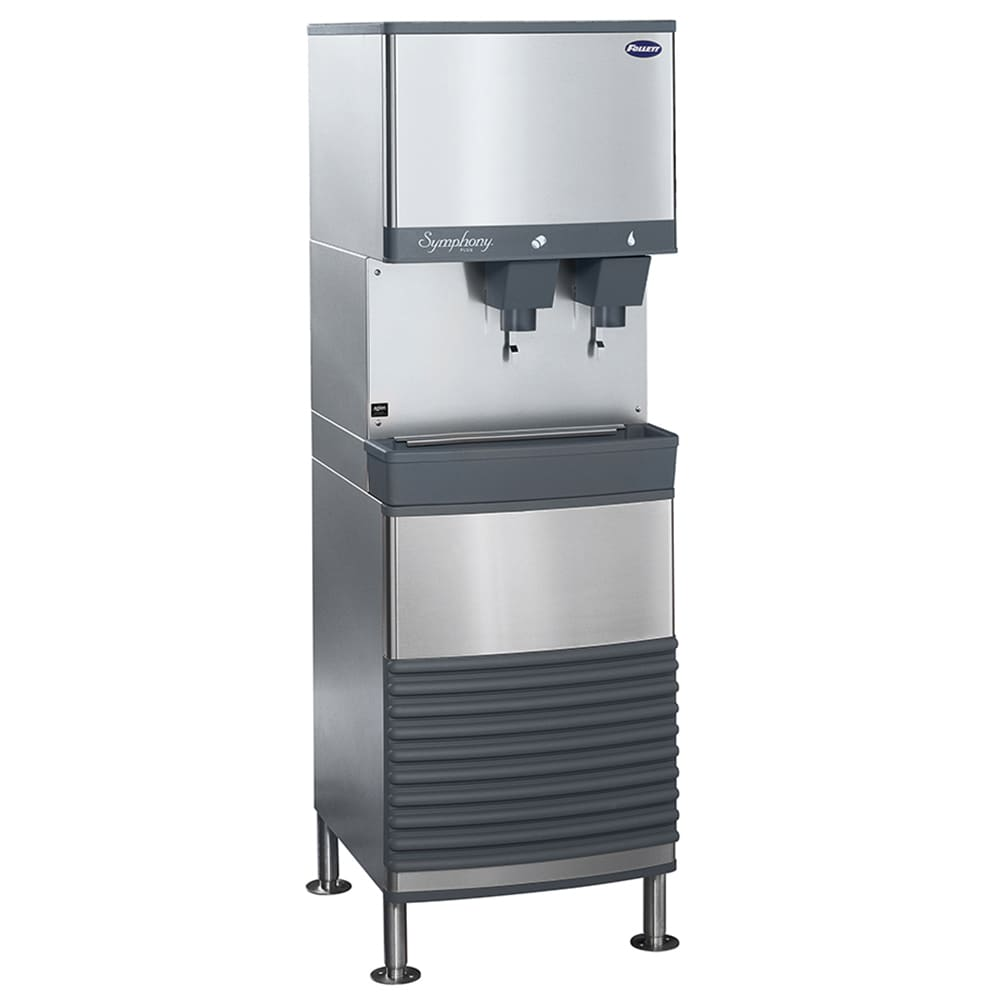 Follett 50FB425A-L Floor Model Nugget Ice Dispenser w/ 50 lb Storage - Cup Fill, 115v
