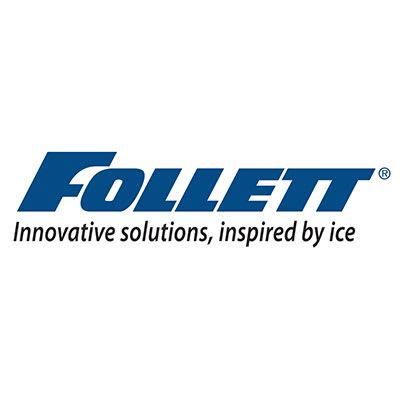 "Follett AB1010TOP0 48"" 1-Door Replacement Upright Bin Top for Ice Device, Stainless"