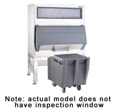 "Follett DEV1650SG-60-ICS 64"" Wide 1660-lb Ice Bin with Chute Door"