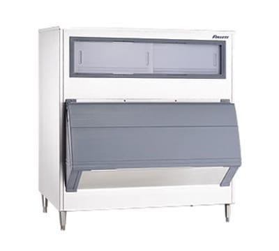 """Follett SG1350S-56 56"""" Wide 1360 lb Ice Bin with Lift Up Door"""