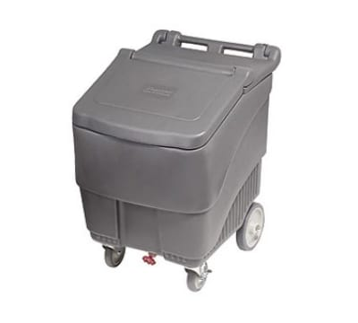 "Follett SMARTCART125 22.5"" Insulated Ice Cart w/ 125-lb Capacity, Flip-Up Lid"