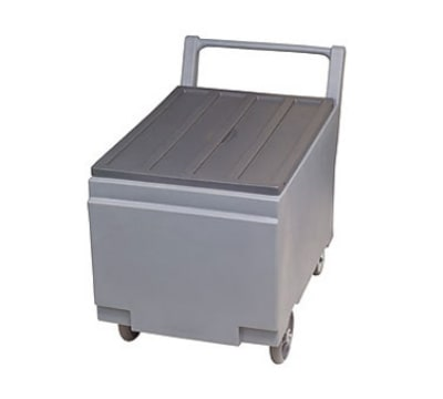 "Follett SMARTCART240 24.25"" Insulated Ice Cart w/ 240-lb Capacity, Removable Lid"