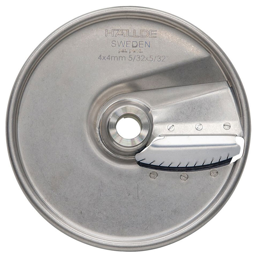 "Hobart 15JUL-5/32-SS .15"" Julienne Plate for FP150 & FP250 Food Processors Stainless"