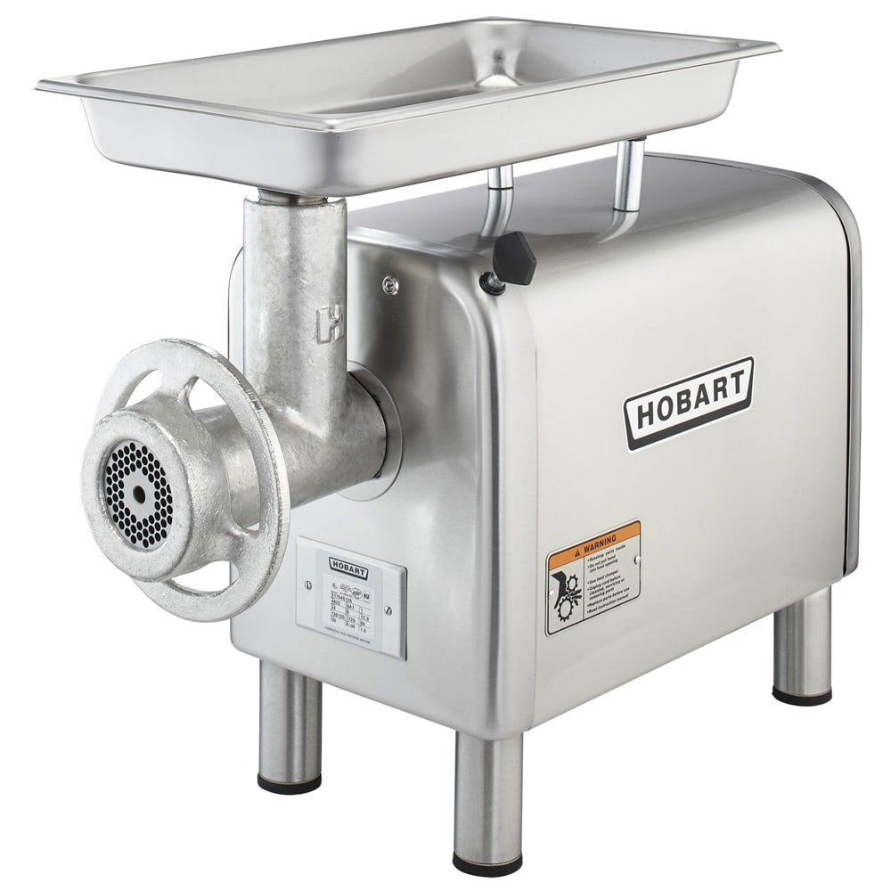 Hobart 4822-35 Base Unit Meat Chopper, Bench Type w/ 12-20-lb Per Minute Capacity, 240v/1ph