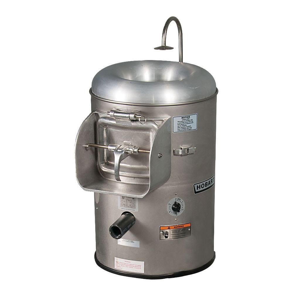 Hobart 6115-1 Portable Vegetable Peeler w/ 15 20 lb Potato Capacity, 115/1 V