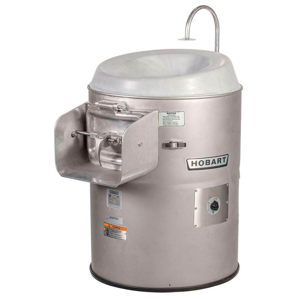Hobart 6430-3 Vegetable Peeler w/ 30 33 lb Potato Capacity, Stainless, 230/1 V