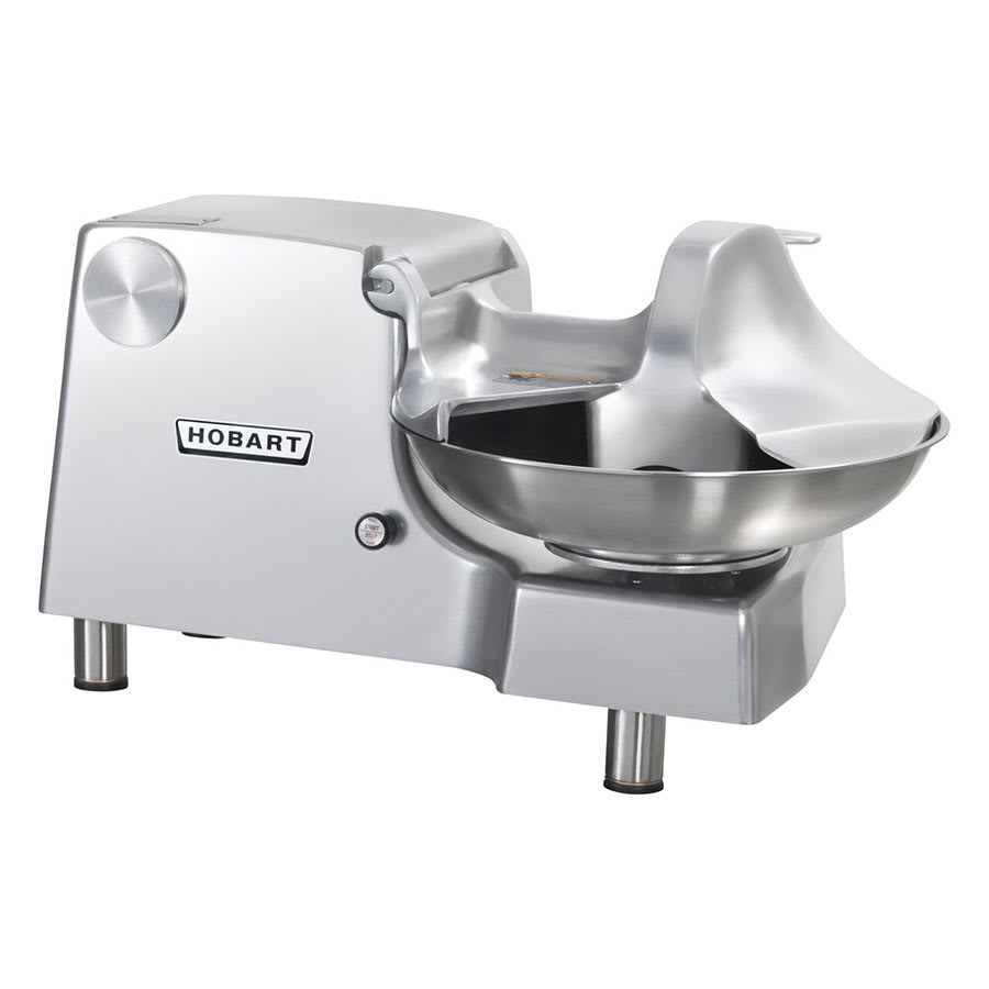 Hobart 84186-5 1-Speed Buffalo Chopper Food Processor w/ Side Discharge, 460v/3ph