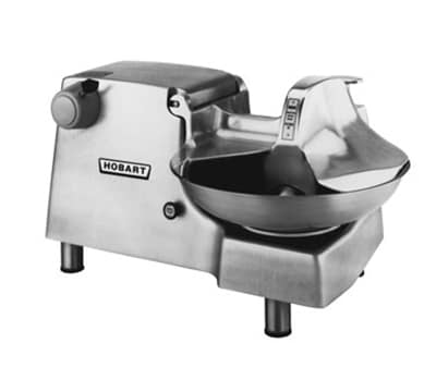 Hobart 84186C-2 Correctional Food Cutter w/ #12 Attachment & 18-in Bowl, 208/3 V