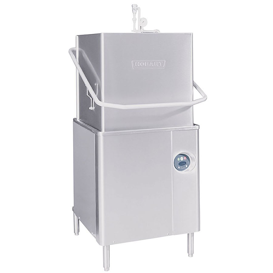 Hobart AM15-1 Electric High Temp Door-Type Dishwasher, 208-240v/3ph