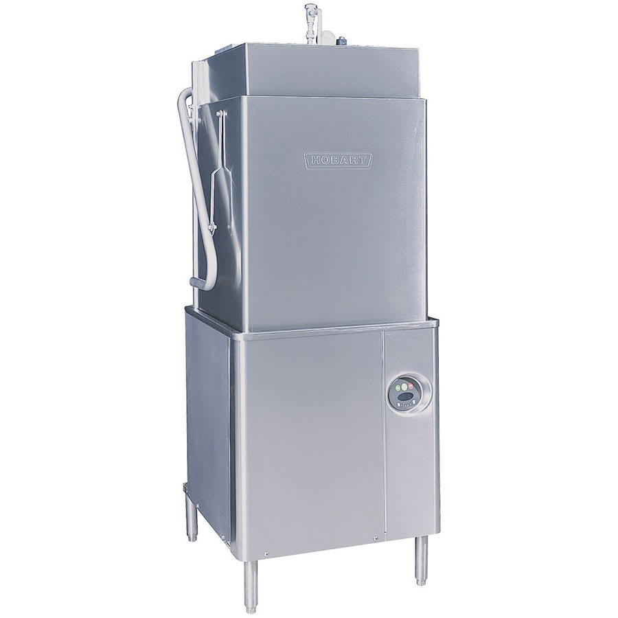 Hobart AM15T-1 High Temperature Door Type Dishwasher w/ No Booster, 208v/3ph
