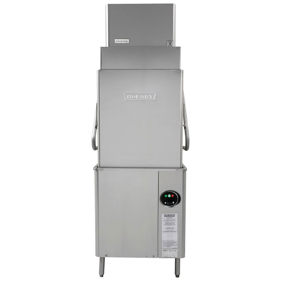 Hobart AM15VLT-4 Electric High Temp Door-Type Dishwasher w/ High Hood, 480v/3ph