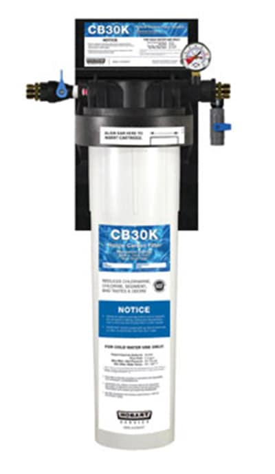 Hobart CB15K-SYSTEM Single Combination Water Filter Cartridge Assembly, Tank