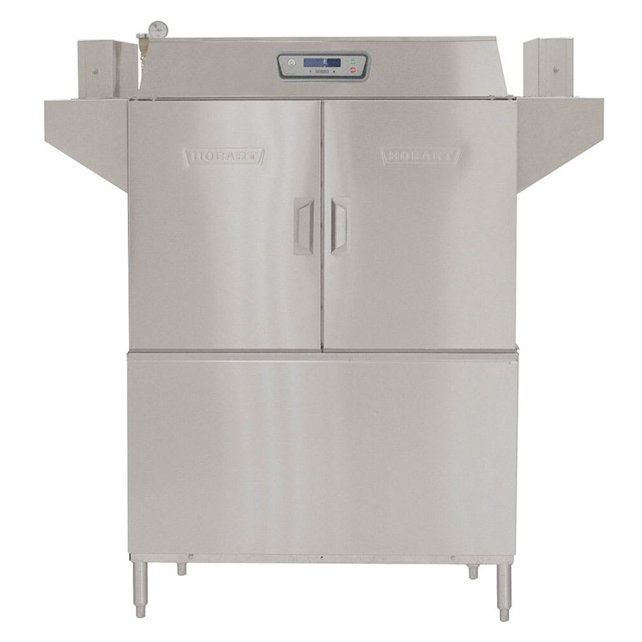 "Hobart CL44E-2 44.75"" High Temp Conveyor Dishwasher w/ Electric Tank Heat, 208v/3ph"