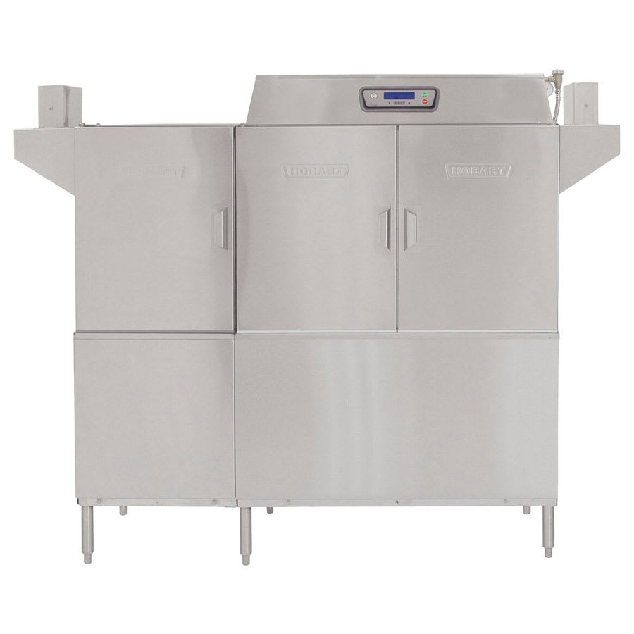 "Hobart CLPS66E-4 66.75"" High Temp Conveyor Dishwasher w/ Electric Tank Heat, 208v/3ph"