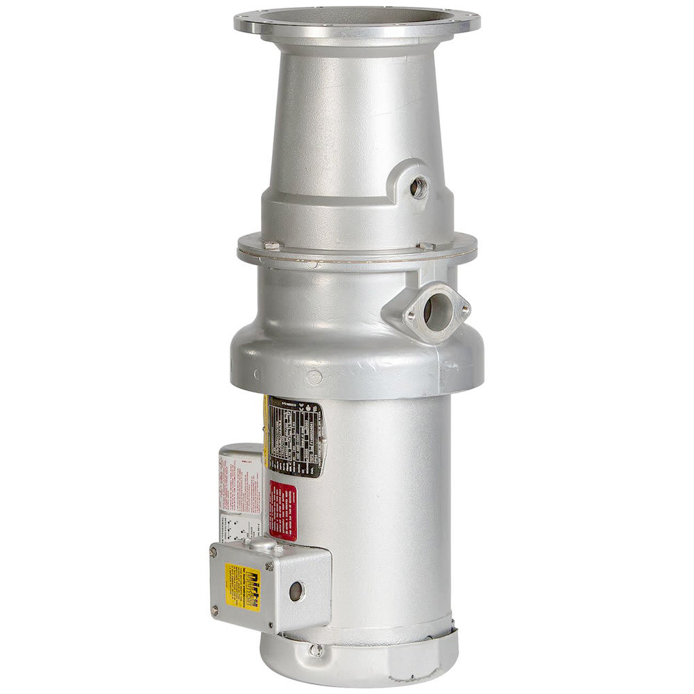 Hobart FD4/75-4 Garbage Disposer w/ Long Upper Housing - 3/4 HP, 120v/208-240v/1ph