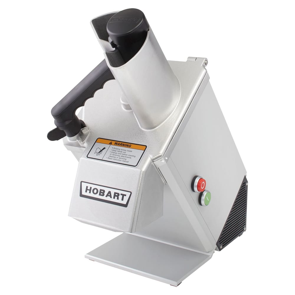 Hobart FP100-1 1 Speed Continuous Feed Food Processor w/ Side Discharge, 120v