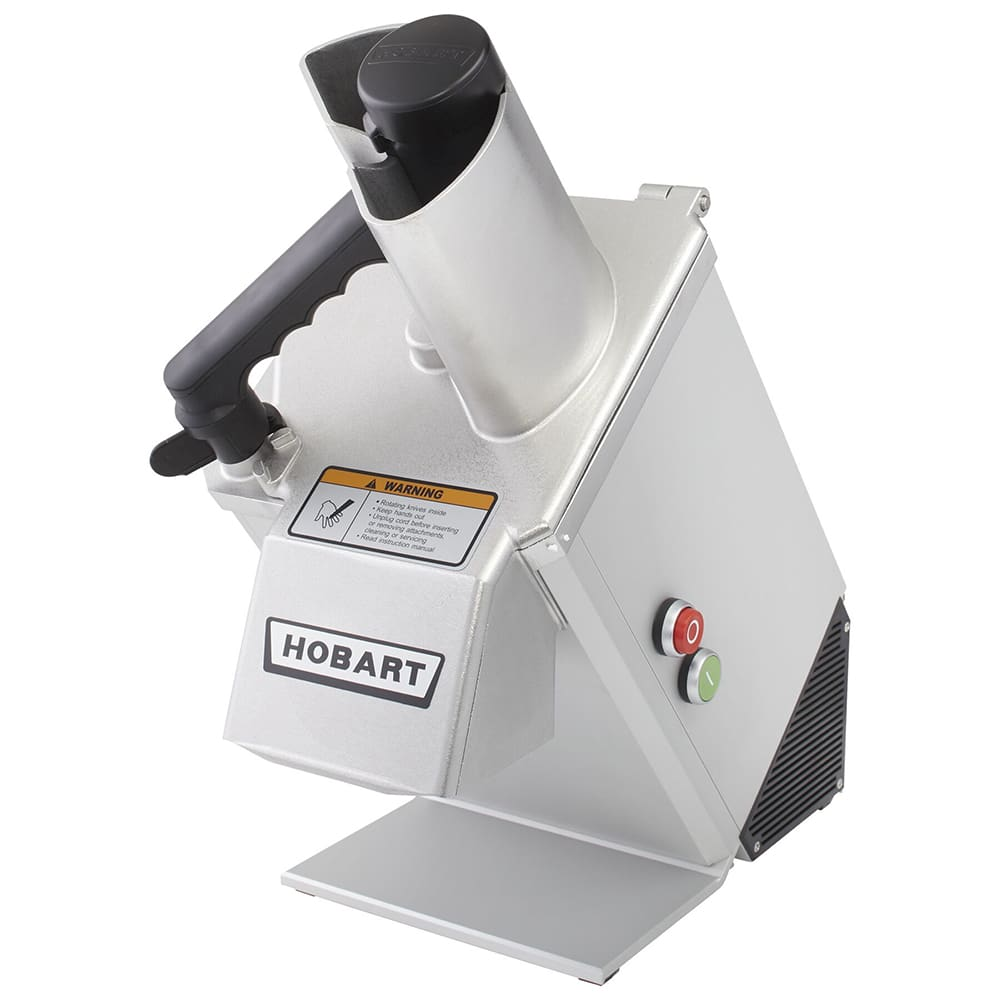 Hobart FP100-3 1-Speed Continuous Feed Food Processor w/ Side Discharge, 220-235v/1ph