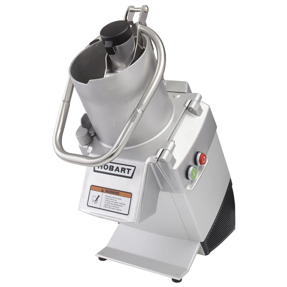 Hobart FP250-1B 1-Speed Continuous Feed Food Processor w/ Side Discharge, 120v