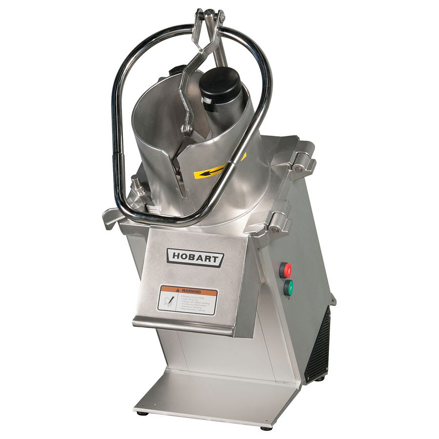 Hobart FP350-2 1-Speed Continuous Feed Food Processor w/ Side Discharge, 220-240v/1ph