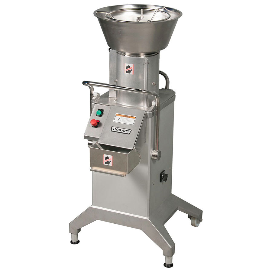 Hobart FP400-1 2-Speed Continuous Feed Food Processor w/ Side Discharge, 208-240v/3ph
