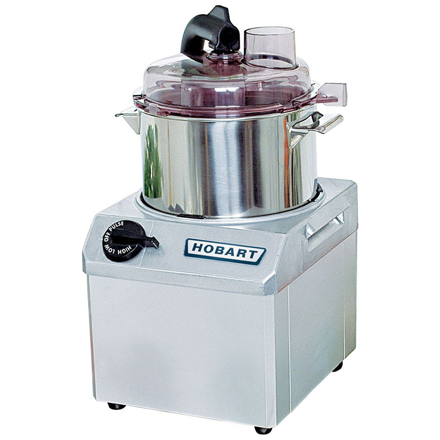 Hobart FP41-1 1-Speed Cutter Mixer Food Processor w/ 4-qt Bowl, 120v