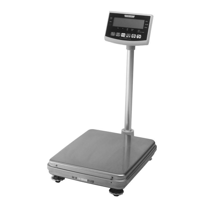 Hobart HBR301-1 Receiving Scale w/ Digital Platform & 300 x .1 lb Graduation