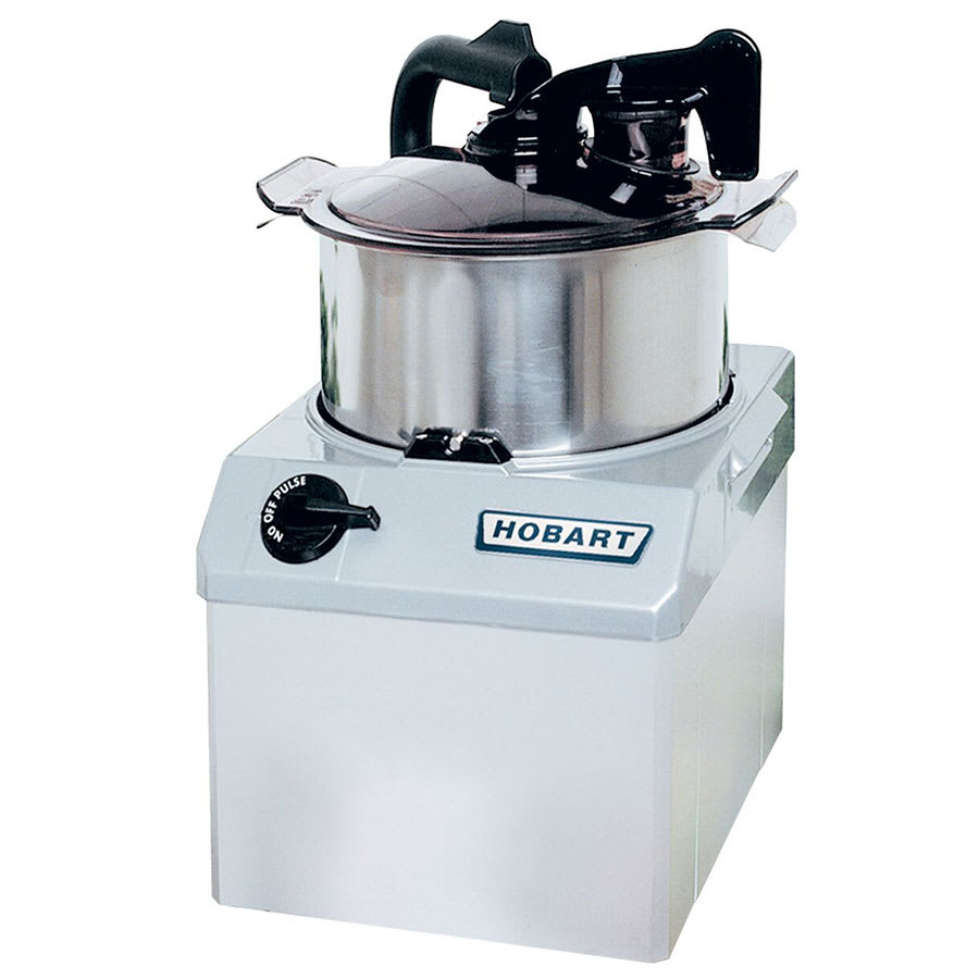 Hobart HCM61-1 1 Speed Cutter Mixer Food Processor w/ 6 qt Bowl, 120v