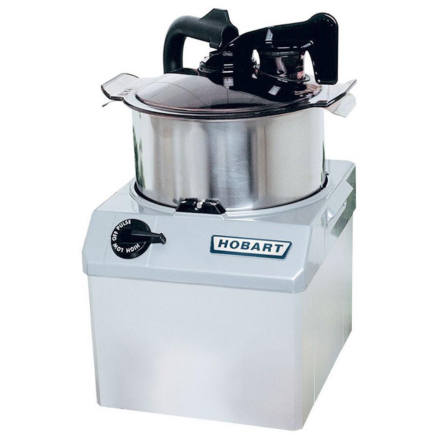 Hobart HCM62-1 2-Speed Cutter Mixer Food Processor w/ 6-qt Bowl, 208-240v/3ph