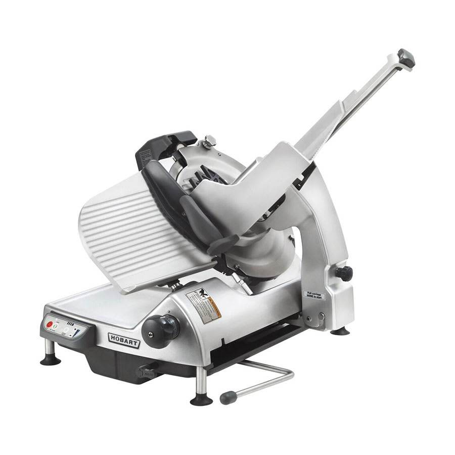 "Hobart HS7N-1 Heavy Duty Automatic Slicer w/ 13"" Knife, 3-Stroke Lengths & 4-Speeds"
