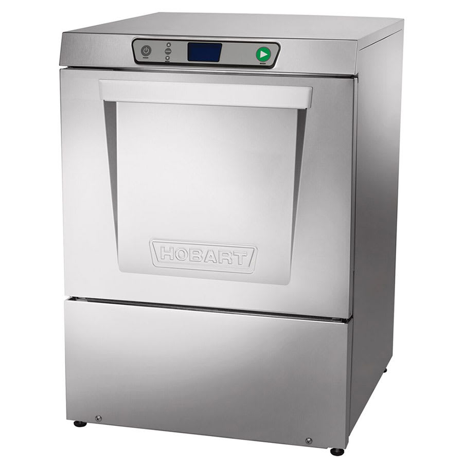 Hobart LXEH-5 Undercounter Dishwasher w/ 3Hot Water Sanitation & 32-Racks Per Hour, 208/3 V