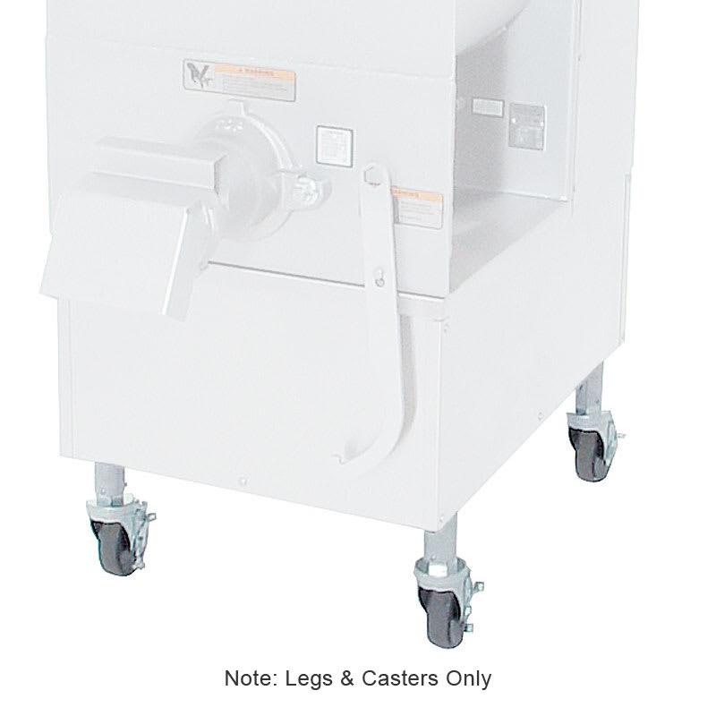 Hobart MGLEG-AJC9 Adjustable Legs with Casters For Hobart 42461-Model Meat Grinder