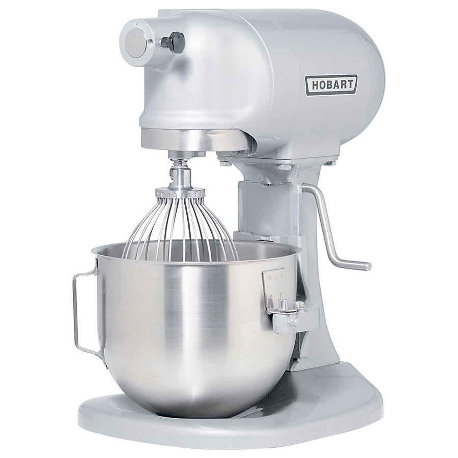 Hobart N50-604 5 qt Planetary Mixer w/ 3 Fixed Speeds & Manual Bowl Lift, 230/1 V