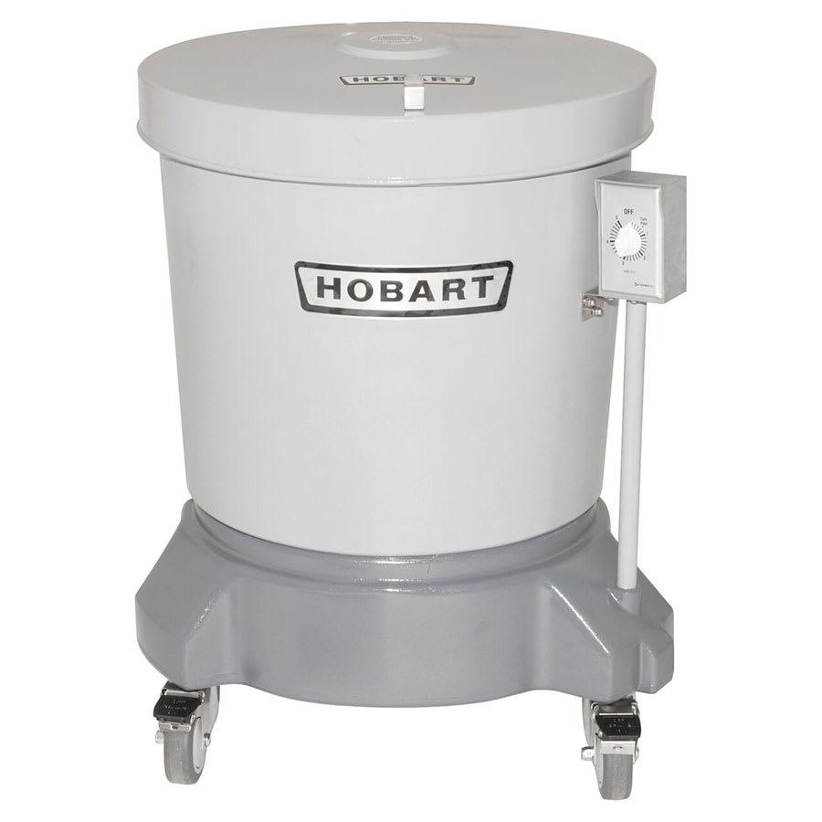 Hobart SDPE-12 20-Gallon Salad Dryer w/ Floor Drain & Polyethylene Shell, 220/1 V