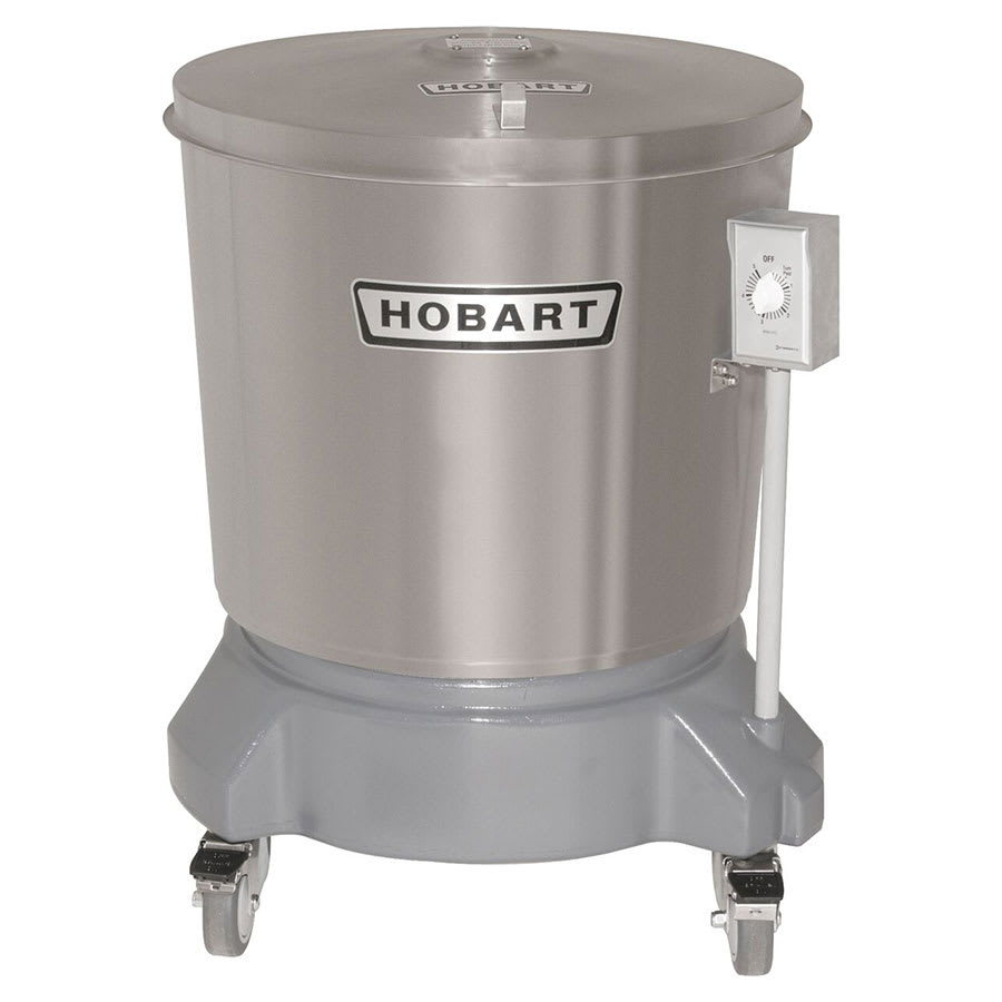 Hobart SDPS-13 20-gal Salad Dryer w/ Drain & Stainless Outer Tub, 230v/1ph