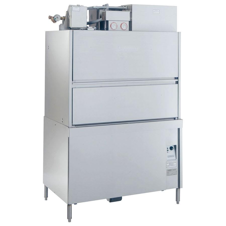 Hobart UW50-12 Front Load Utensil Washer w/ Split Doors & Booster Heater, 480/3 V