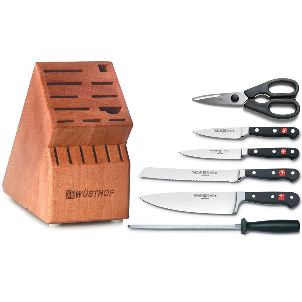 Wusthof 7707 Knife Set w/ Case