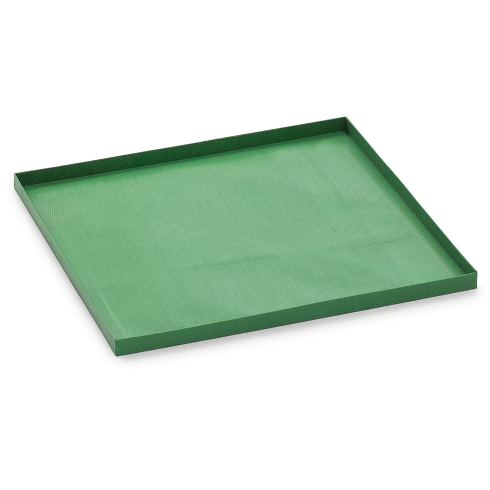 "Merrychef 32Z4093 Teflon Basket w/ Solid Bottom for eikon™ e2s Series Ovens - 11"" x 11"", Green"