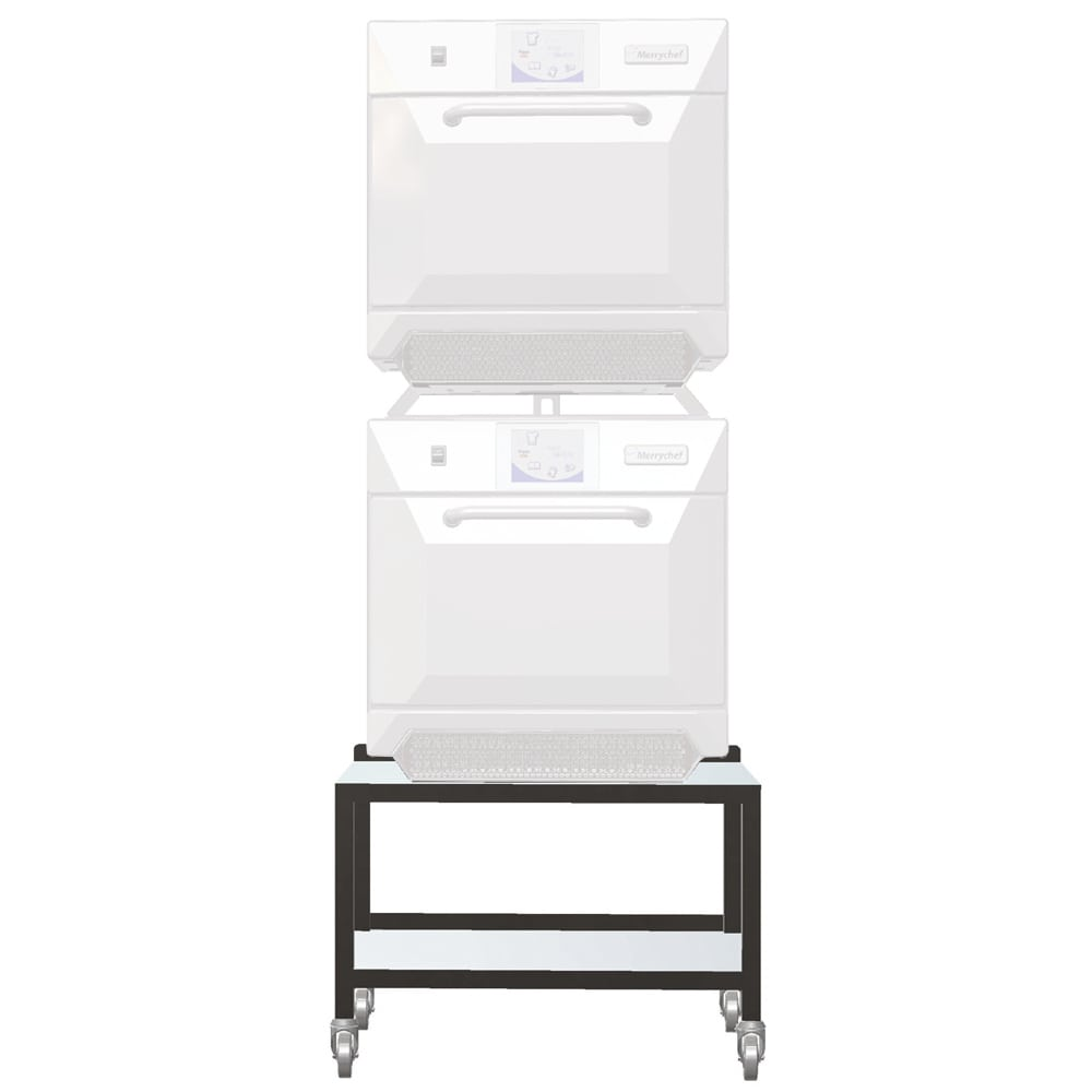 "Merrychef STACK19 19"" Single Oven Cart w/ Heavy-Duty Stem Casters, For e4 or e4s"