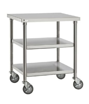 "Merrychef STACK36 36"" Single Oven Cart w/ Heavy-Duty Stem Casters for Single e4"