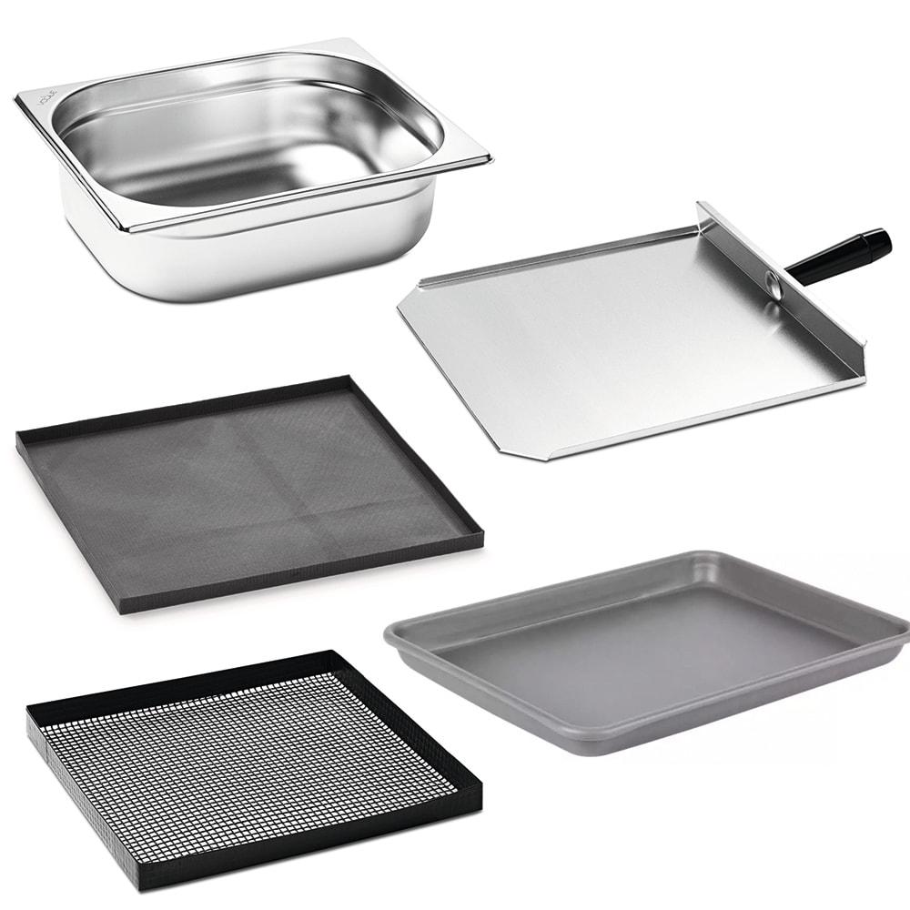 Merrychef START-UP E4 Start-Up Accessory Kit, (2) Pans, (1) Paddle, (2) Basket