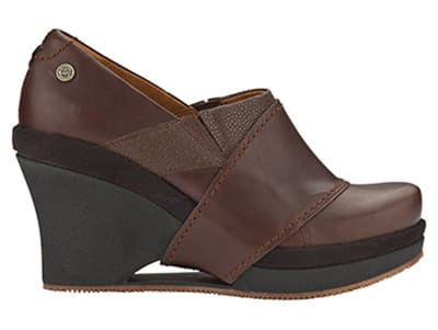 Mozo 3731 BRN 55 Womens Divine Shoes w/ Elasticized Entry & 3-in Heel, Brown, Size 5.5