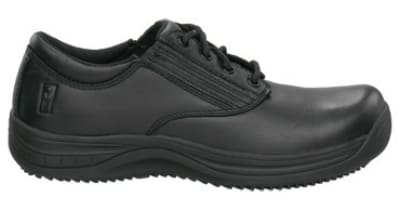 Mozo 3804 - 12 Men's Notte Leather Lace-Up Shoe w/ Elastic Goring, Size 12
